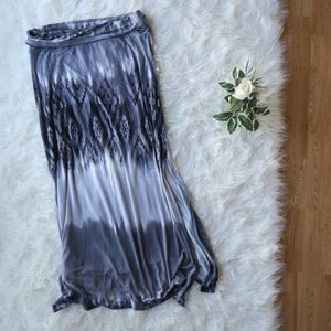 Grey JOE B Maxi Skirt